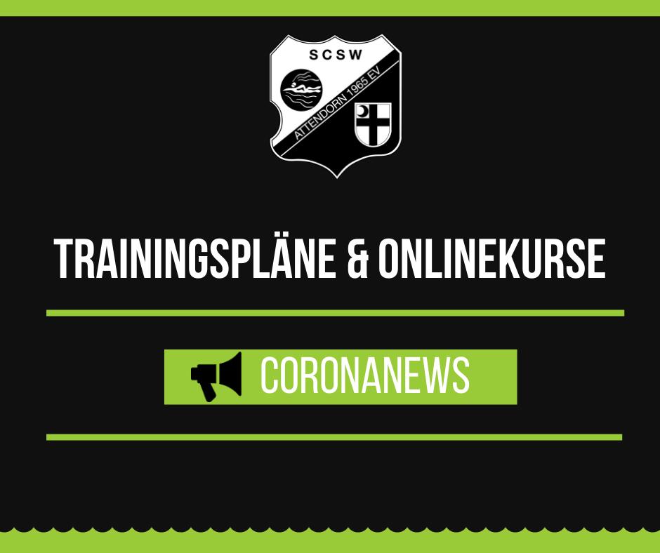 Trainingspläne & Onlinekurse